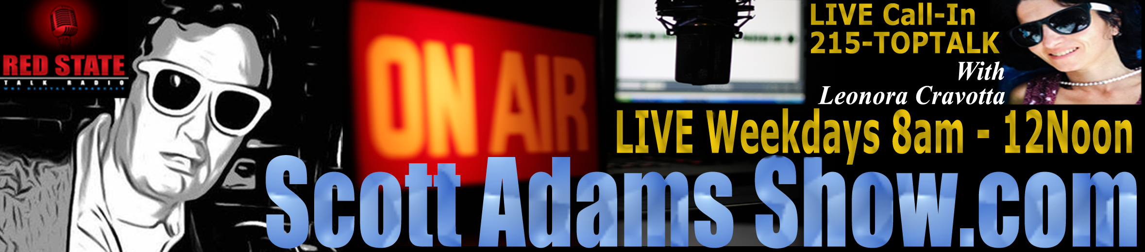 8a-12p EST LIVE Weekdays