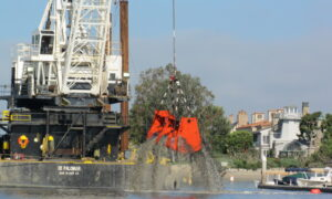 Dredging by Harbor Island 300x180